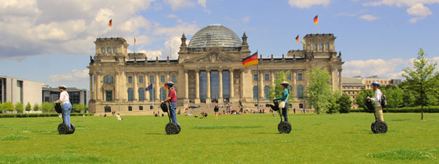 Explore Berlin on this 3-hour segway tour! Learn about Berlin as you ride through in this historic city! See all of the major sights! Book online!