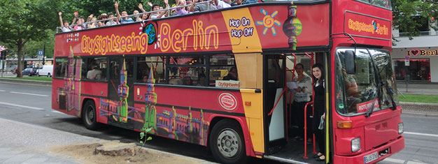 Discover Berlin at your own pace with the Hop-On Hop-Off buses! Choose between 3 routes and two combo options! Kids under 6 travel for free. Book now!