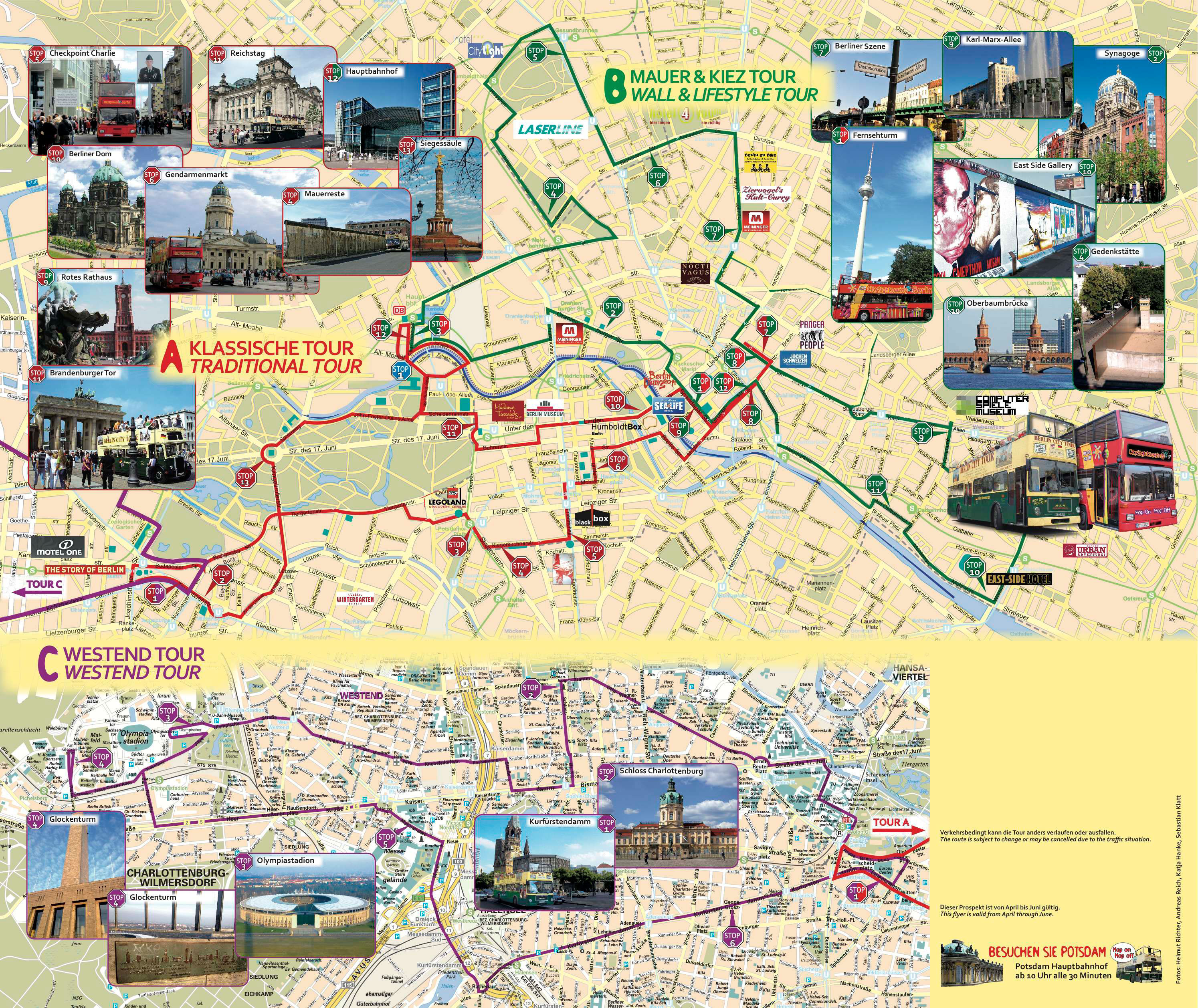 Tickets F 252 R Berlin Sightseeing Hop On Hop Off Tour