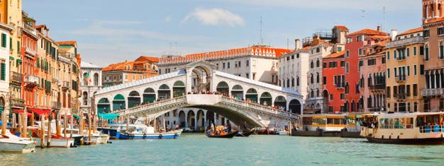 3.5 h walking tour of Venice! See all of the highlights and get a tour inside of both St. Mark's Basilica and the Doge's Palace. Book your tour here!