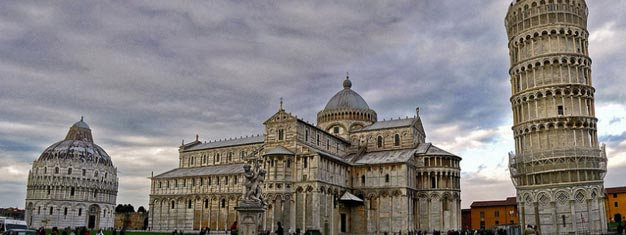 Visit Pisa and see all the highlights: Square of Miracles and the Leaning Tower of Pisa. Transport to/from Florence incl. Book your tour to Pisa today!