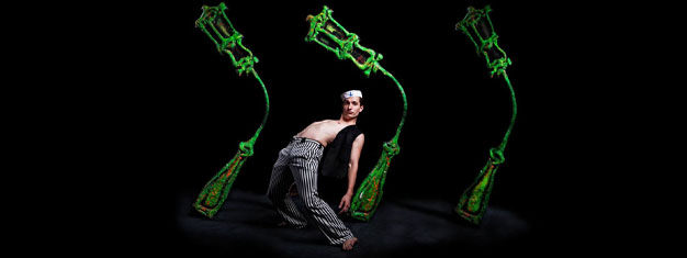 Black Light Theatre is truly a traditional Prague theatre style. Buy your tickets to Black Light Theatre in Prague here!