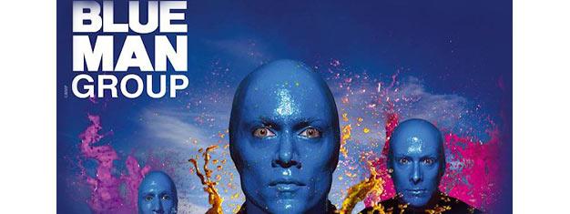Upplev Blue Man Group i Chicago! Se de blå karaktärerna uppträda - det är en show som bara måste ses! Boka biljetter och förbered dig på att bli hänförd!