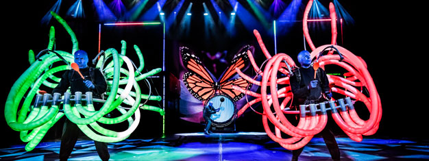 Blue Man Group in Las Vegas cannot be explained, it must be seen LIVE! Book your tickets for Blue Man Group in Las Vegas here and be blown away!