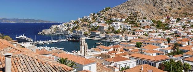Bestill etheldags cruise til øyeneHydra, Aegina & Poros her! Det er en fantastisk tur til tre svært forskjellige greske øyer. Inkl. lunsj og frakt.