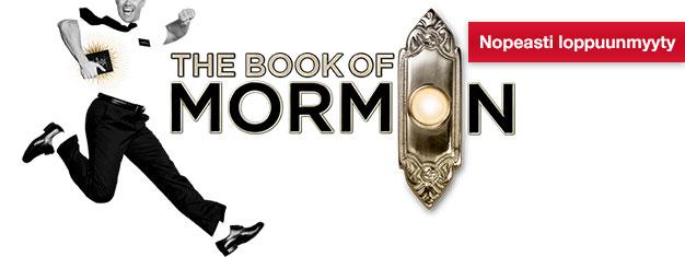 The Book of Mormon, uusi musikaali Lontoossa, on mitä hauskin ja hulvattomin musikaali Broadwaylta New Yorkista. Liput musikaaliin saa ostettua täältä!