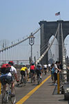 Aluguer de bicicletas na Brooklyn Bridge