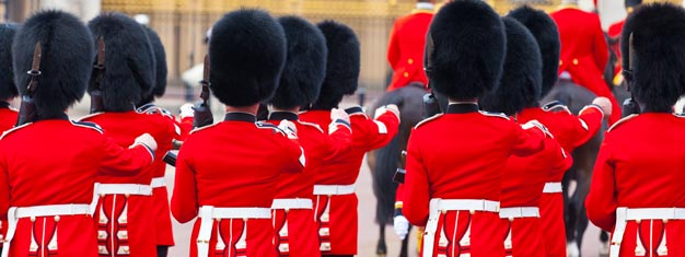 Explore the State Apartments of Buckingham Palace and experience the Changing of the Guards. Tickets are limited and high in demand! Book your tour online!