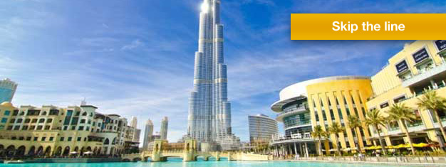 Enjoy stunning views from Dubai's most iconic building, the Burj Khalifa, and the At the Top observation deck.  Book your tickets from home & skip the line!