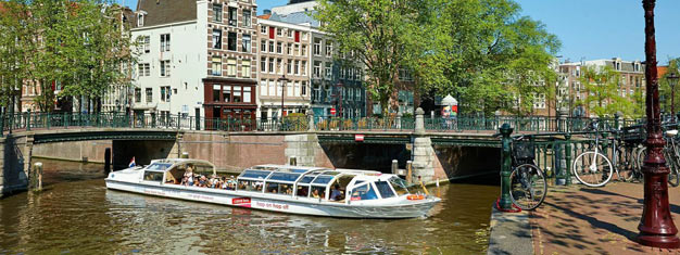 Buy your tickets to Hop-On Hop-Off Canal Bus and go sightseeing by boat with hop on hop off service in Amsterdam's canals. Book tickets to Hop-On Hop-Off Canal Bus here!