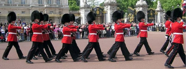 Experience the Changing of the Guard - a must-see when you are visiting London! Avoid the crowds and get some of the best views. Book your tour online!