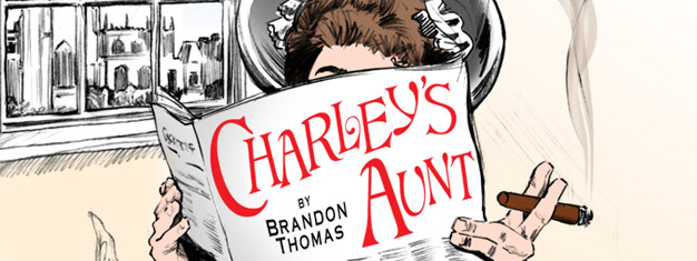 Charley's Aunt, the crazy comedy in London is worth a visit. Tickets for Charley's Aunt in London can be booked here!