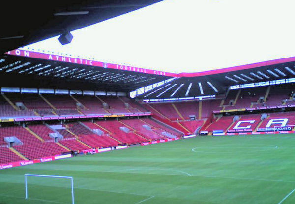 Estadio The Valley. FútbolenLondres.es