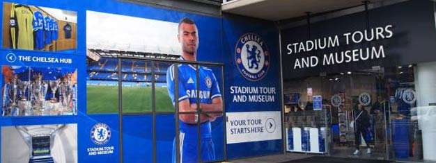 The tour of Stamford Bridge, home to Chelsea FC, takes to behind the scenes to one of the world's best football teams. Get your tickets here!