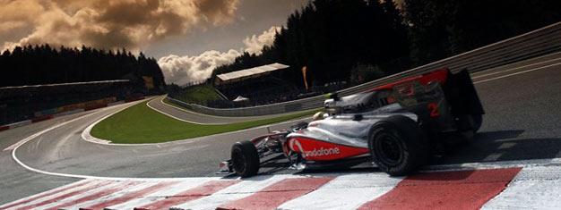 Kup bilet na klasyczną Formułę 1 Grand Prix w Spa, w Belgii. Prowadzimy sprzedaż wszystkich biletów i gwarantujemy bezpieczną dostawę do hotelu. Bilety na F1 w Spa tutaj!