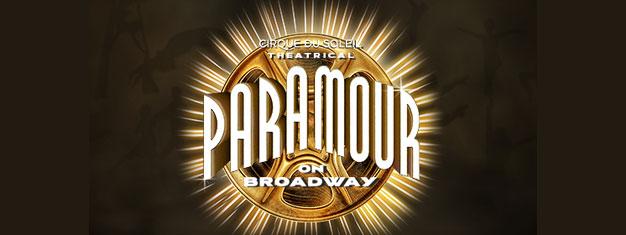 Showet paramour forener Circque du Soleil med Broadways historiefortælling og musik! Køb dine billetter til Cirque du Soleil Paramour i New York her!