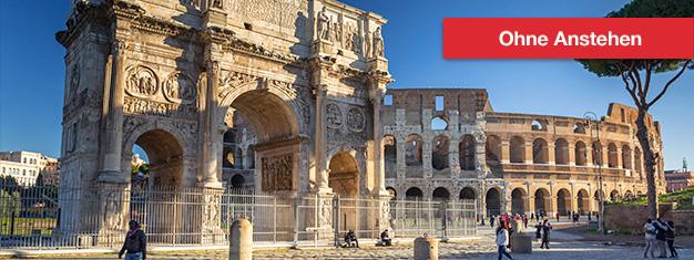 Kolosseum & Forum Romanum: Geführte Tour - Gladiatorentor