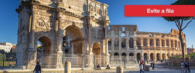 Coliseu & Fórum Romano: excursão guiada via Portal dos Gladiadores