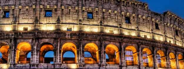 Enjoy a 2-hour guided tour of Rome by sunset! See many of the most famous sights. Children under 10 are free. Book your tour online today!