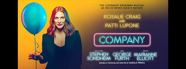 Enjoy Stephen Sondheim and George Furth's musical Company about life, love and marriage. Don't miss this iconic musical comedy, book your tickets today!