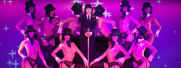 Experience Crazy Horse's sensual show in Paris. You can choose between Show & Champagne, Dinner and Show or Show Only. Book tickets online!