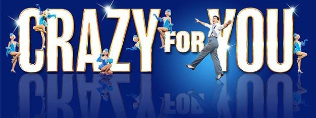 El Musical Crazy for You, repleta de la clásicas canciones de Ira y George Gershwin, está ahora abierto en Londres. Entradas para Crazy for You aquí!
