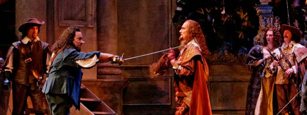 Cyrano de Bergerac the opera at The Metropolitan is a beloved comedy/tragedy. Book your tickets here!