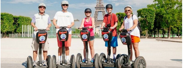 Enjoy a segway tour around Paris! See the major sites! It's the best way to see the 'City of Light'. Book your Paris segway tour from home!