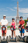 Tickets to Paris på en Segway