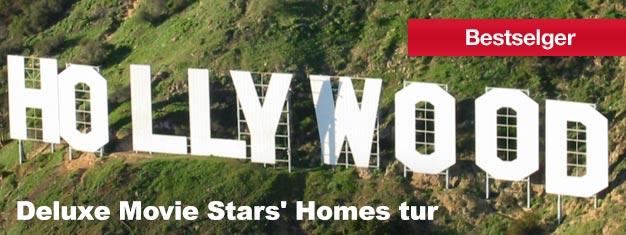 Har du noen sinne drømt om å se Hollywood og Beverly Hills? Da bør du bli med oss på Deluxefilmstjerners hjem- og vognturen! Skaff billettene dine her!