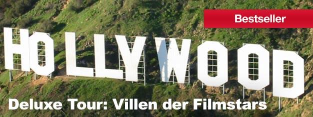 Haben Sie je davon geträumt Hollywood und Beverly Hills zu sehen? Dann kommen Sie mit auf unsereDeluxe Tour:Villen der Filmstars & Straßenbahn! Holen Sie sich Ihre Tickets hier!