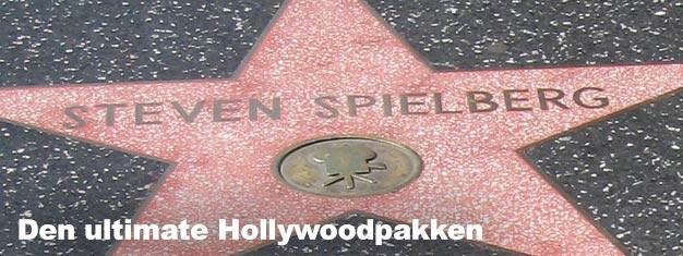 Den ultimate Hollywoodpakken inkluderer billetter til:Filmstjernenes hjem tur, et24 timers hopp på-hopp av pass og inngang til Madame Tussauds Hollywood.