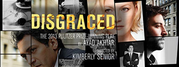 Disgraced is an explosive tale of the stories we tell our friends, the secrets we tell our lovers, and the lies we tell ourselves to find our place in the American Dream.