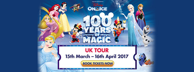 Tickets Für Disney On Ice 100 Years Leeds Ticmatede