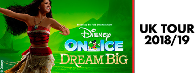 Experience Disney's most adventurous dreamers at Disney On Ice presents Dream Big. Don't miss the incredible ice skating show live in London, buy tickets today!