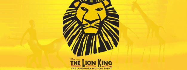 Experience this family musical favourite - The Lion King on Broadway! Winner of Best Musical. Book your tickets online!