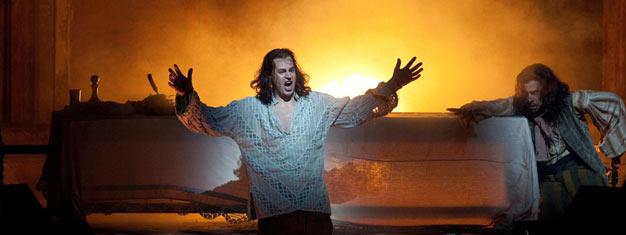 Don Giovanni er baseret på legenderne om Don Juan, en fiktiv udsvævende forfører. Komponeret af Mozart, det er et sandt mesterværk, som nu spiller på the Met.