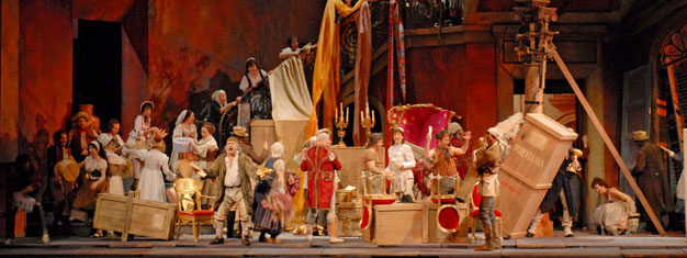 Donizetti's lighthearted farce Don Pasquale on Metropolitan Opera House in New York. Book your tickets for Don Pasquale here!