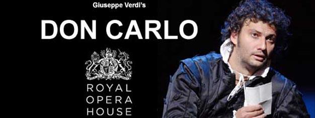 Giuseppe Verdis storslagna Don Carlo på The Royal Opera House i London! Boka biljetter här!