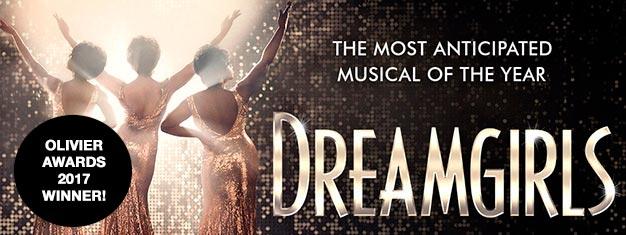 35 ans après la fantastique production originale présentée à Broadway, la comédie musicale de légende Dreamgirls arrive enfin dans le West End à Londres !