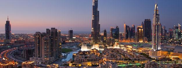 Upplev Dubais 5 bästa sevärdheter på denna sightseeingtur. Skippa köerna till Burj Khalifa och njut av utsikten och mycket mer. Boka biljetter på nätet!