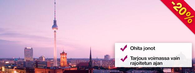 Vieraile Berliinin TV-tornissa heti aamutuimaan Early Bird -lipulla! Nauti 207 metrin korkeudesta avautuvista näkymistä. Ohita jonot ja varaa nyt!