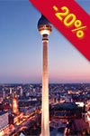 Vstupenky na Berlin TV Tower w. Early Bird