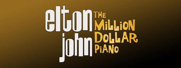"""Curta o novo show de Elton John: """"O Piano de um milhão de dólares"""", em Las Vegas. Ingressos para o show de Elton John """"O Piano de Um Milhão de Dólares"""", em Las Vegas, aqui!"""