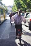 Avond voedsel tour per fiets