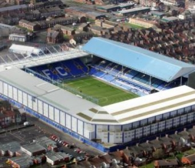 Estadio Goodison Park . FútbolenLondres.es