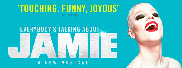 Experience fearless, funny, fabulous brand new musical sensation 'Everybody's Talking About Jamie' live in London! Book your tickets today!