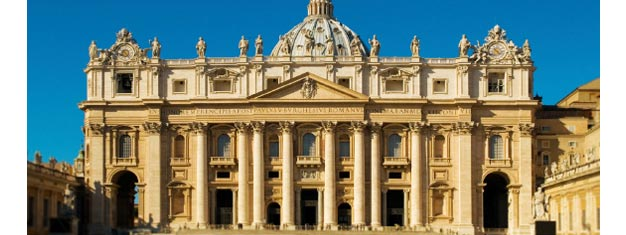 Enjoy this extended Vatican tour, which includes the Bramante Staircase, Sistine Chapel, Pinacoteca, and St. Peter's Basilica. Book your tour online!