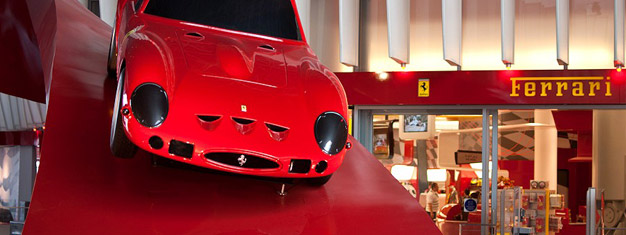Enjoy a day at the incredible Ferrari World in Adu Dhabi! Try the world's fastest rollercoaster! Transfer to/from Dubai is included. Book tickets here!