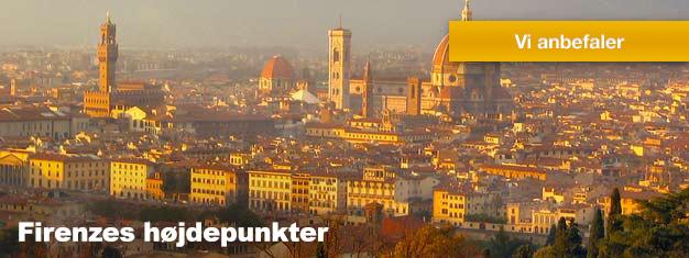 Denne tur er den perfekte introduktion til en af Europas smukkeste byer, Firenze, Din informative guide vil tage dig vil vise dig Firenzes højdepunkter.